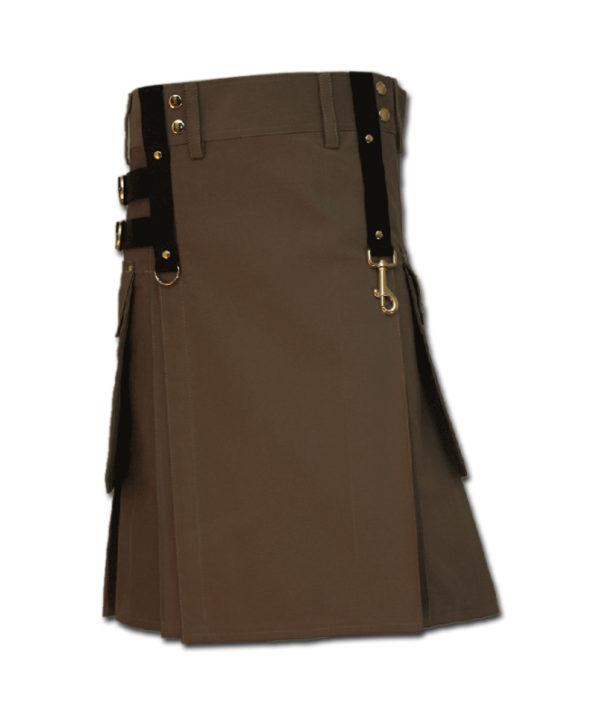 Aesthetic Kilt for Steam Punk brown 1