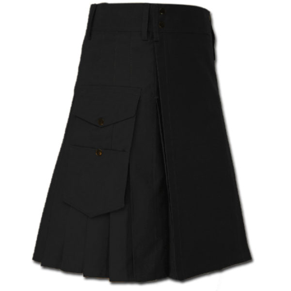 Great Kilt for Stylish Men Black
