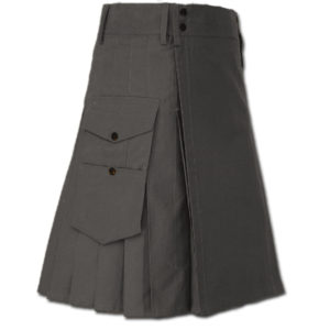 Great Kilt for Stylish Men gray 1