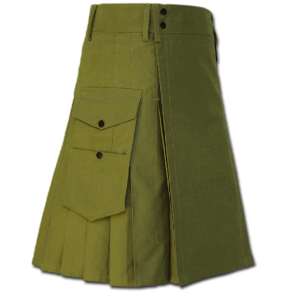 Great Kilt for Stylish Men green