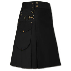 Utility Kilt for Decent men black
