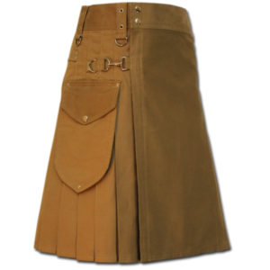 Utility Kilt for Decent men sand 1
