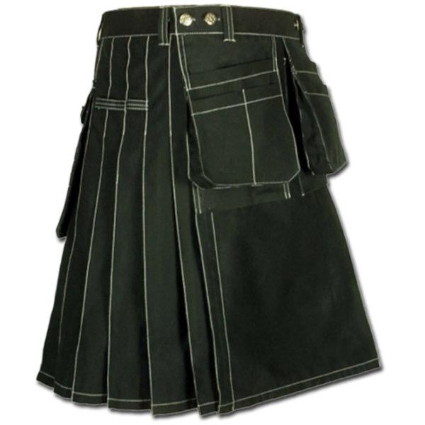 Workwear kilt for Working Men black
