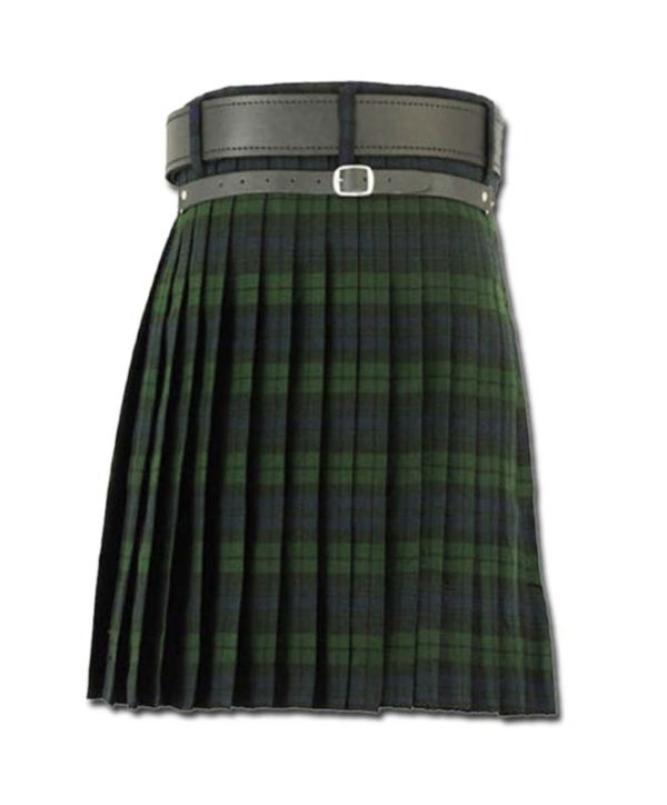 Black Watch Tartan Kilt-3