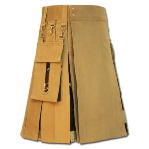 Camo Box Pleated Kilt