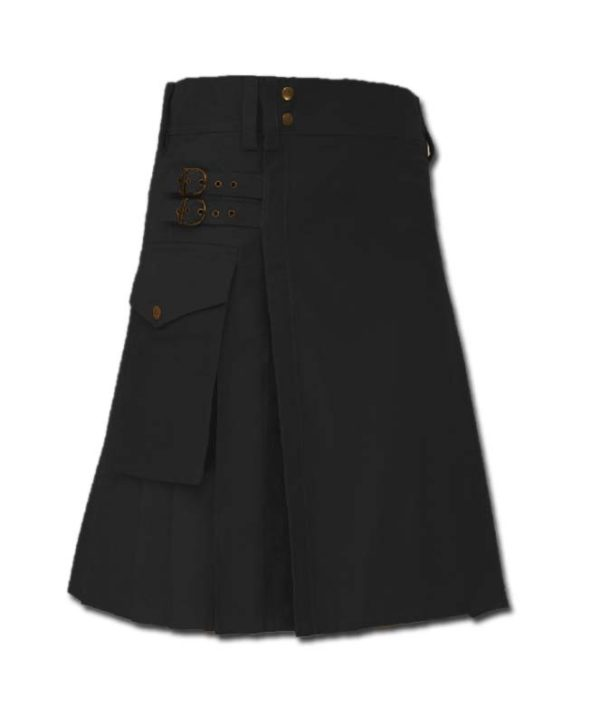 Casual Kilt for Every Men black