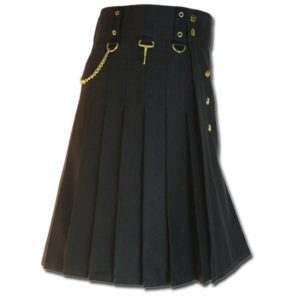 Contrast Pocket Kilt for Royal Men