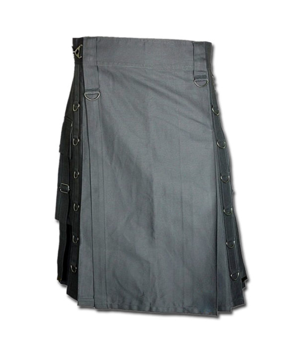 Dee Kilt for Burning Man grey