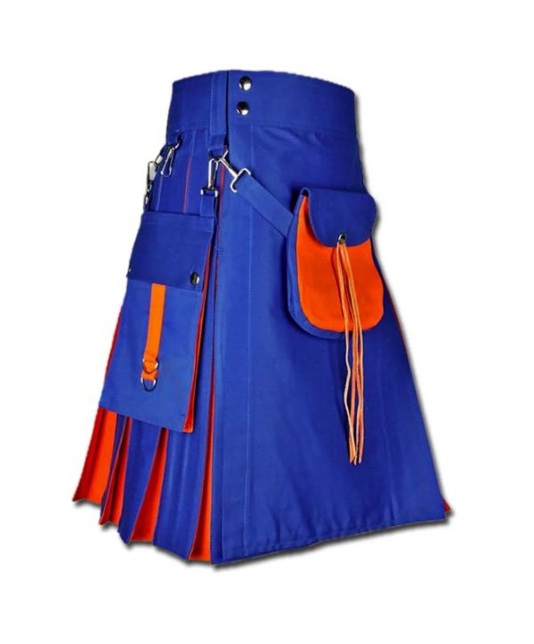 Hybrid Kilt With Sporran-blue