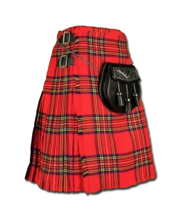 Royal Stewart Tartan Kilt