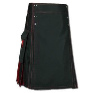 Santa claus Kilt for Stylish Men red black