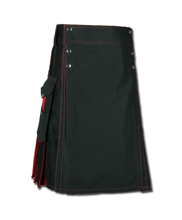 Santa claus Kilt for Stylish Men red black