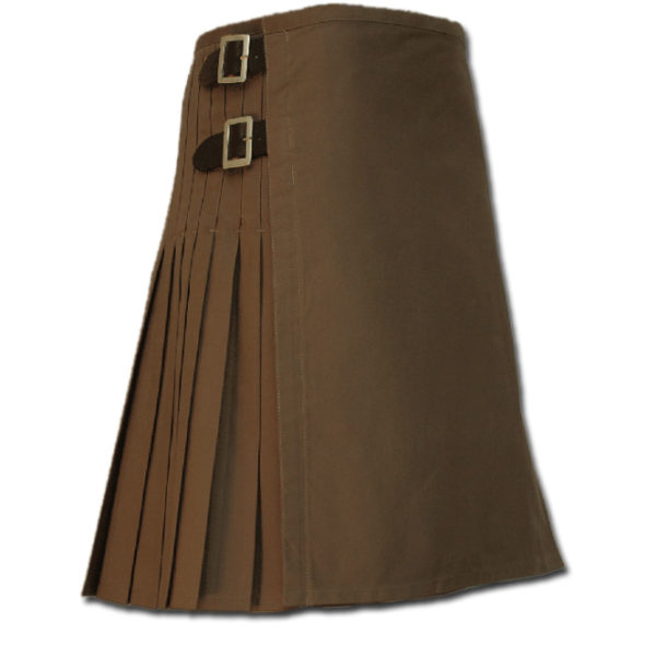 Sexy Kilt for Hot Men brown
