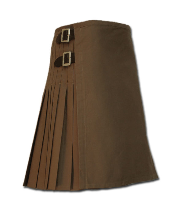 Sexy Kilt for Hot Men brown