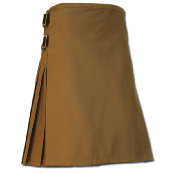 Sexy Kilt for Hot Men sand