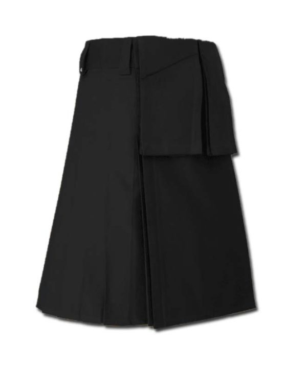 Utility Kilt for Burning Man black