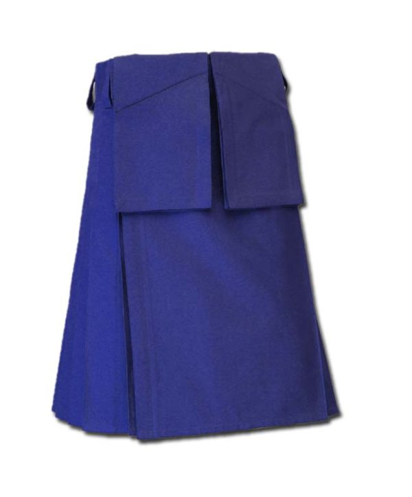 Utility Kilt for Burning Man blue