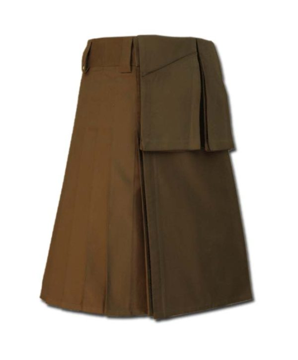 Utility Kilt for Burning Man brown