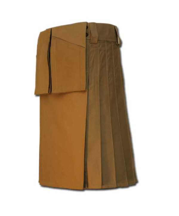 Utility Kilt for Burning Man khaki