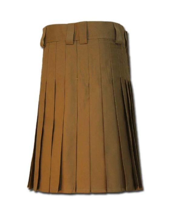 Utility Kilt for Burning Man khakki 2