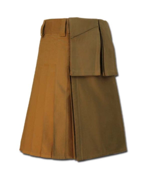 Utility Kilt for Burning Man khakki 3