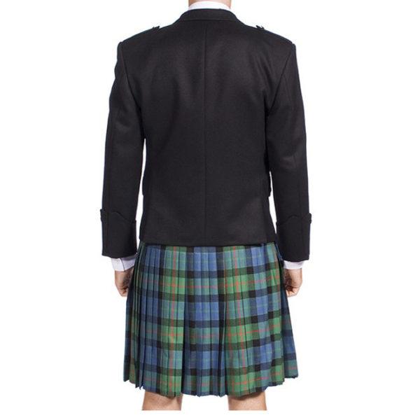 Argyle Jacket Black Barathea-2