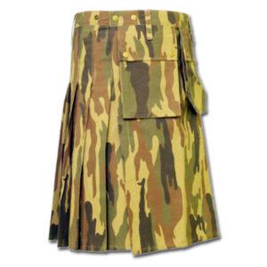 Camouflage Military Kilt-2