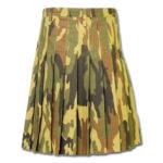Camouflage Military Kilt-4