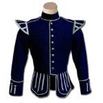 Navy Blue Highland Drummer Doublet jacket
