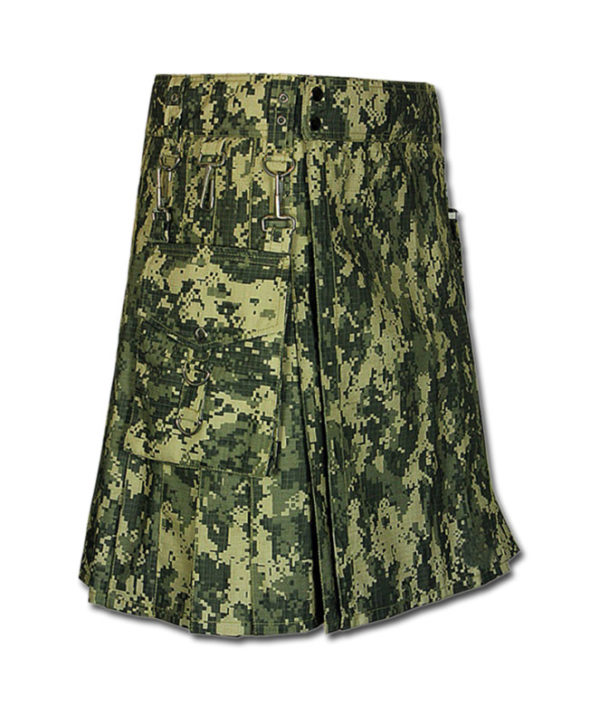 Sage Digital Camo Kilt-1
