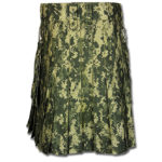 Sage Digital Camo Kilt-2