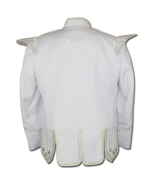 White Drummer Doublet Jacket-2