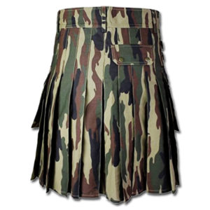 Woodland Tactical Duty Kilt