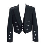 Prince Charlie Kilt Jacket With 3 Button Waistcoat/Vest