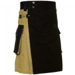 hybrid-kilt-khaki-and-black-left