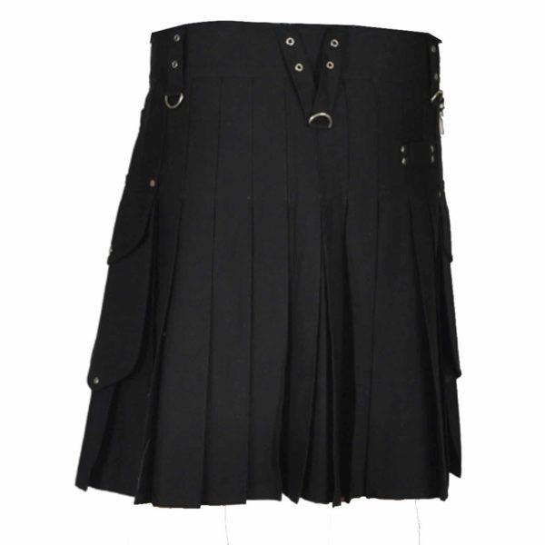 stylish-black-utility-kilt-back