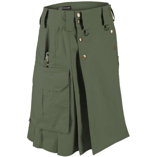 5.11 Tactical Duty Kilt – Moss-1