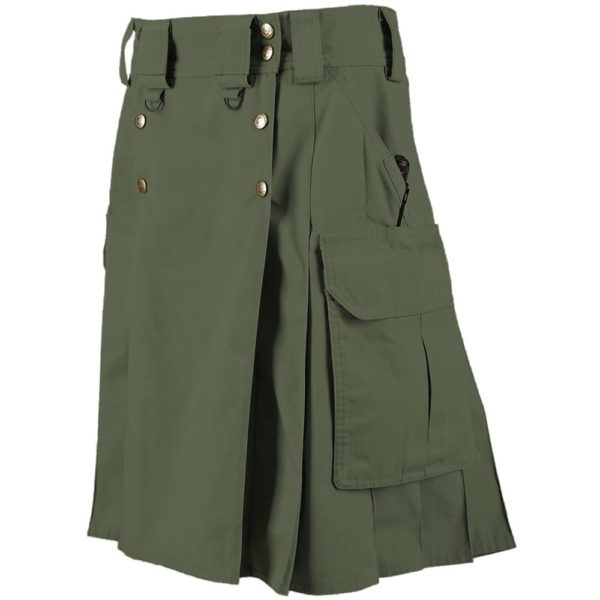 5.11 Tactical Duty Kilt – Moss-2
