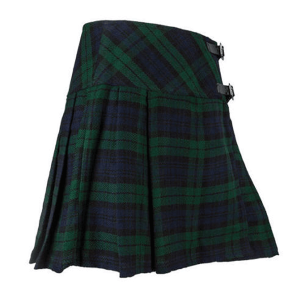 Blackwatch-Tartan-kilt-for-Women