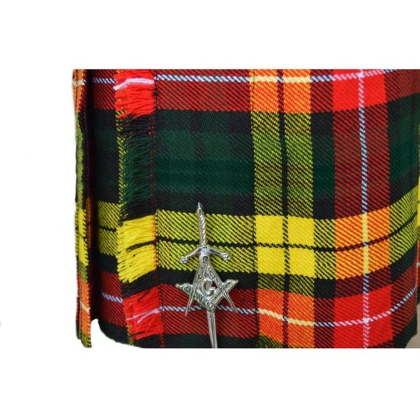 Buchanan-Tartan-Kilt-close