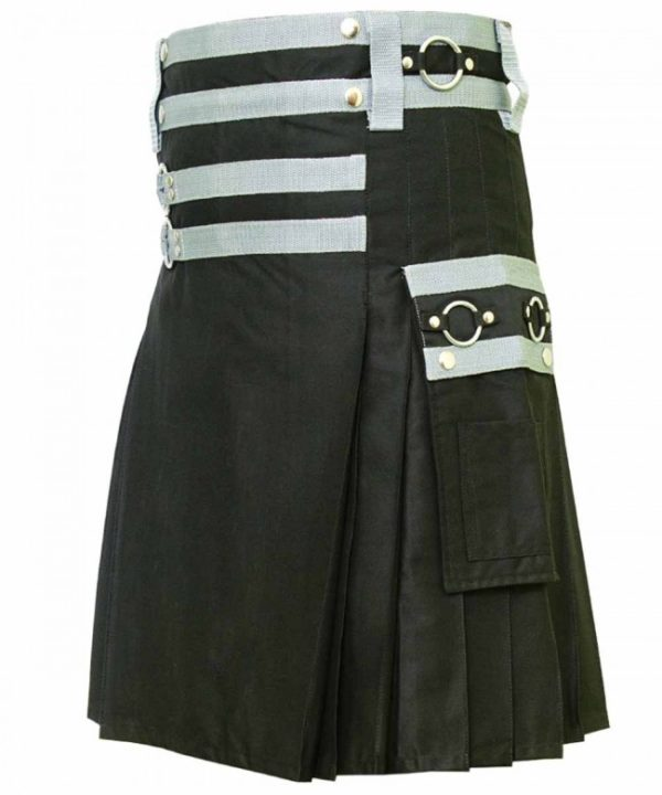 Steampunk Gothic kilt3