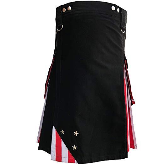 US American Flag Hybrid Utility Kilt Modern Design1