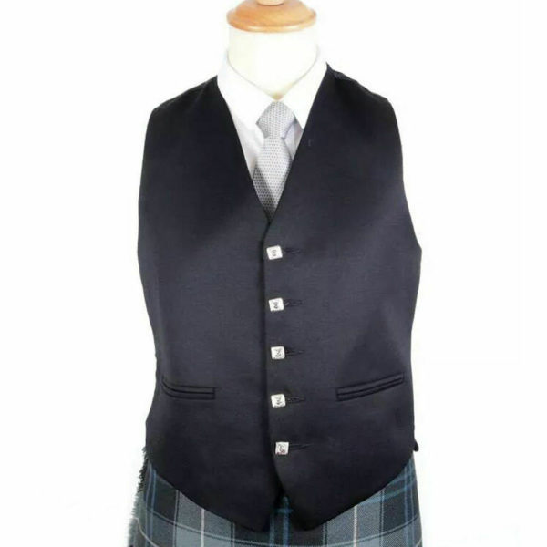 100% WOOL Argyle kilt Jacket & Waistcoat Vest, Scottish Argyle Jacket1