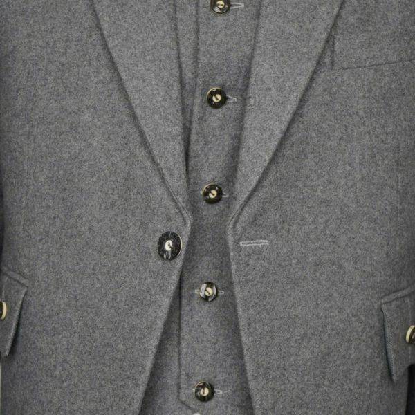 100% Wool Scottish Crail Highland Argyle Kilt Jacket and Waistcoat2