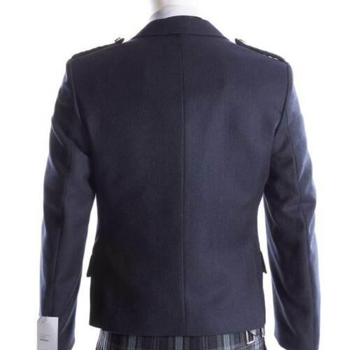 Crail Kilt Jacket and Waistcoat in Midnight Blue2