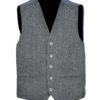 Men's Tweed Crail Highland Kilt Jacket and Waistcoat Scottish Wedding Dress