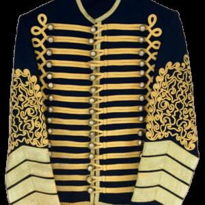 Jimi Hendrix Jacket, Military Tunic, Hussars Pelisse, Bespoke