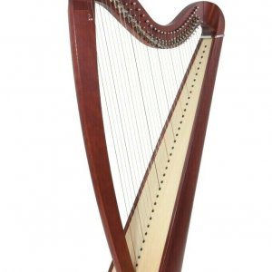 Camac 34 String Telenn Harp in Mahogany + Camac Bag + Camac Dust Cover + Tutor