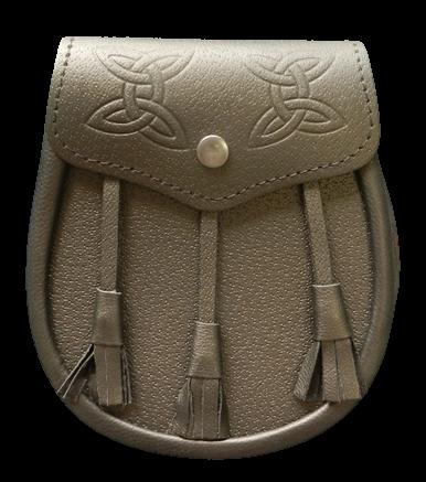 Leather Budget Sporran (Black)