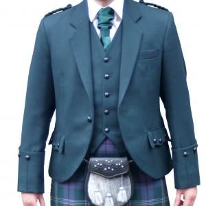 Green Argyll Jacket & Vest 2020